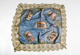 Frederick John Janes's silk with scenes from Flanders