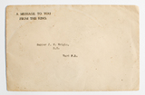 Prisoner of war letter