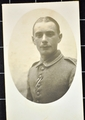 Foto des kleinsten deutschen Kriegsfreiwilligen Hugo Rinkenbach