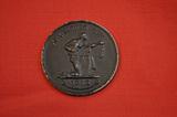 """Medaille / Uhrkette der Spendenaktion """"Gold gab ich für Eisen"""" 1916"""