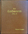 """Gedichtband  """"Der Landsturm"""""""