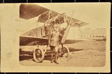Flugzeugführer Eduard Berwald schreibt seiner Tante aus Jüterbog