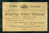 Todesanzeige Anton Wieland