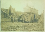 Ein in Fontaine zerstörter englischer Tank