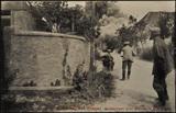 Postkartenansichten von zerstörten Gebäuden