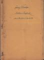 Militärpass, Ersatzreservepass und handschriftliche Aufzeichnungen von Friedrich Schweitzer