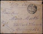 Feldpostbrief - Gotthelf Merkle