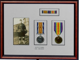 Harry Stanley Green's letters and medals