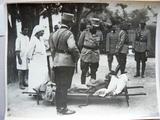 M.S. Regele la Spitalul din Căiuți (1917)