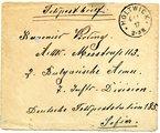 Briefe von Ludwig Vörding aus Holtwick an seinen Bruder