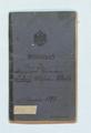 Militärpass von Friedrich Wilhelm Weith