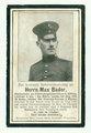 Leutnant Max Bader vom Landwehr-Infanterieregiment 125 und die Verknüpfung seines Schicksals mit dem Soldaten Porthos Hannier vom französischen 331. Infanterieregiment
