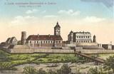 Feldpostkarte - colorierte Darsteldlung Burganlage Lowitsch