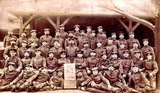 Gruppenbild des Wachkommando Lichtenau 1914