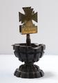 Aschenbecher gefertigt aus einer Handgranate für Leutnant Hans Kühne