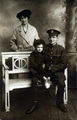 A soldier's family photographed in Hull, 1917