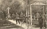 Feldpostkarte - Kriegerfriedhof im Vauquois-Wäldchen