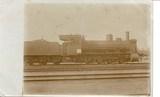 Feldpostkarte - Transportlokomotive