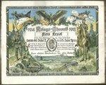 """Dyplom pamiatkowy """"Kriegs-Chronik 1914/1918"""" oraz fotografie"""