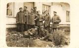 Feldpostkarte - Gruppenfoto deutscher Soldaten