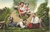 Feldpostkarte - Polnische Landbewohner in Tracht