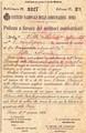 Un documento dal fronte della Grande Guerra
