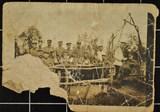 Fotografia oddziału armii cesarskiej pod Verdun