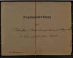 Kriegsstammrollenauszug von Rudolf Friedrich Ferdinand Magritz (geboren 03.10.1894)