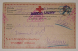 Serbian prisoner-of-war Red Cross postcards