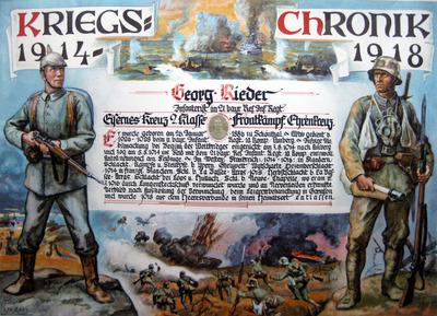 Großcousin Georg Rieder - Kriegchronik 1914-1918.jpg