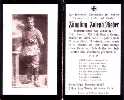 Rieder Joseph, Cousin von Opa, im 1. Weltkrieg gefallen, gescannt.jpg