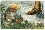 Verschiedene Feldpostkarten u.a. an die Familie Müller aus Bach an der Donau
