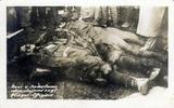 Propagandapostkarte mit Opfern des Jagdpiloten Max Immelmann