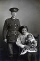A British soldier's family photographed in Tunbridge Wells