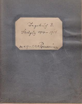 Tagebuch, Cover