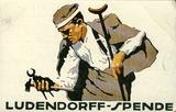 """Feldpostkarte: """"Ludendorff-Spende"""" für Kriegsgeschädigte."""