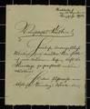Liebesbriefe zwischen Fritz Kreisel und Trudel Joseger