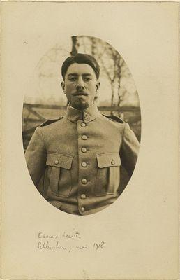 01 - Portrait du poilu Edouard LAURES