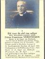 Priester Petrus (Frans) Verstreken uit Gelrode