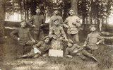 Erinnerungsfoto vom Truppenübungsplatz Bad Orb
