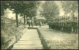 Bestattung deutscher Gefallener während der Herbstschlacht in der Champagne