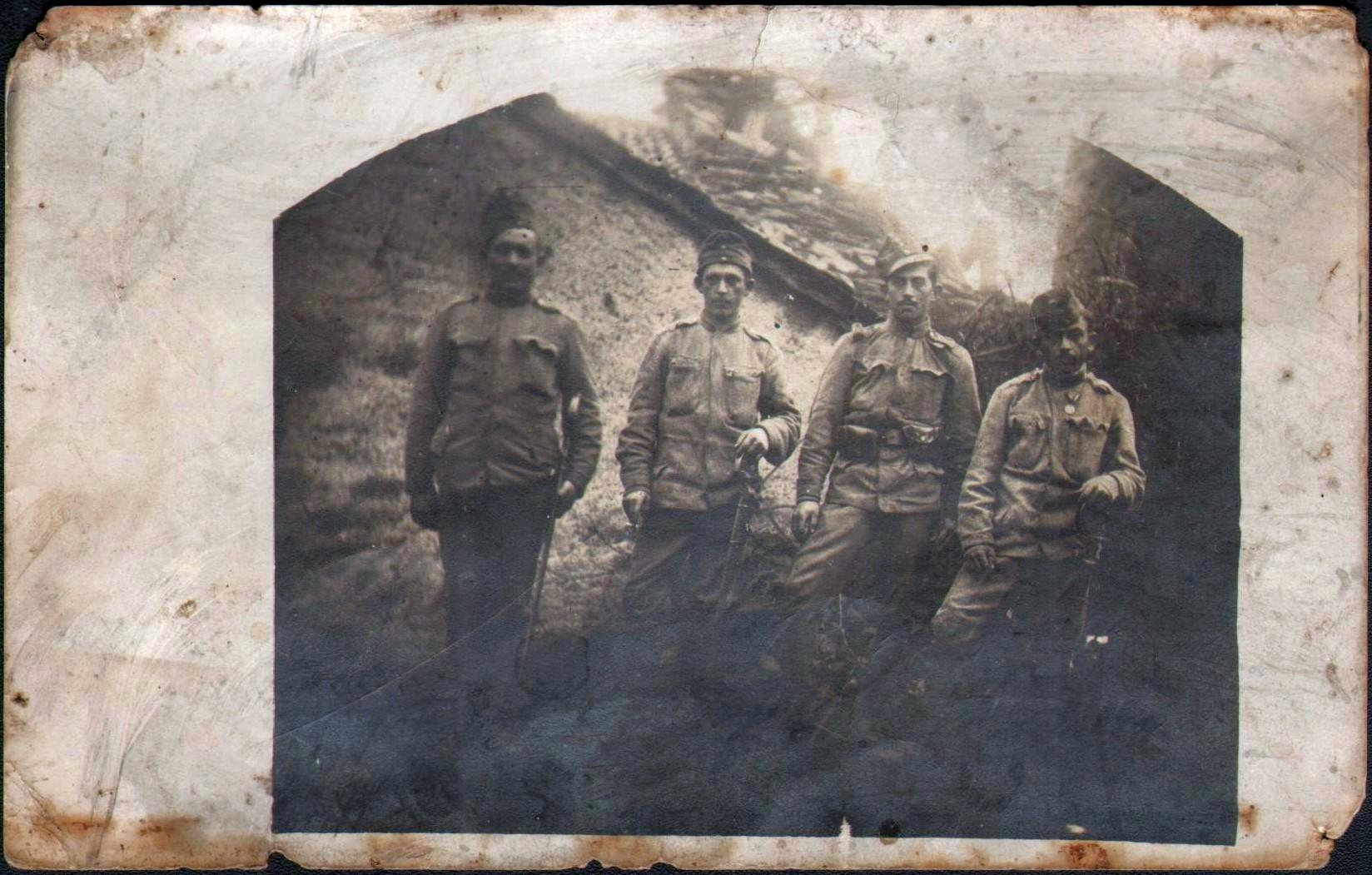 Soldatul Mâțu Ioan, luptător pe frontul italian