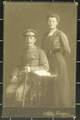 Fotografie des Ehepaars Kruse und Feldpostkarten von Heinrich Kruse und Georg Wegner