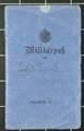 Militärpass, Feldpost und Dokumente von Werner Tank (1891-1971)
