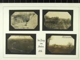 Album mit Feldpostkarten von Hans Johnsen