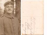 Fotografien vom Kriegsurlaub der Brüder Hugo, Egon und Erich Braun