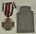 Kriegsgefangenenpost, Militärpass und Auszeichnungen von Johann Mayer