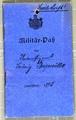 Militärpass, Soldbuch und Dokumente von Ludwig Bergmüller
