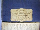 Tagebuch von Fridolin Parzefall