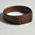 Ring aus dem Abzugsring einer Handgranate
